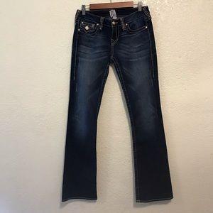 True Religion Disco Becky flare Swarovski jeans